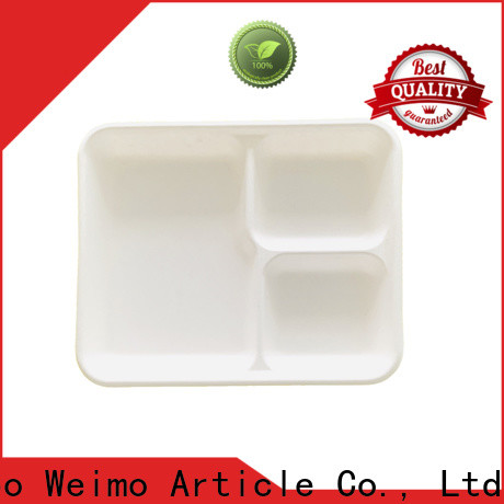 Greenweimo Latest biodegradable meat trays factory for hot food