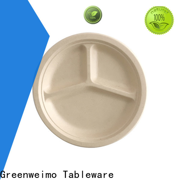 Greenweimo New green disposable tableware Suppliers for oily food