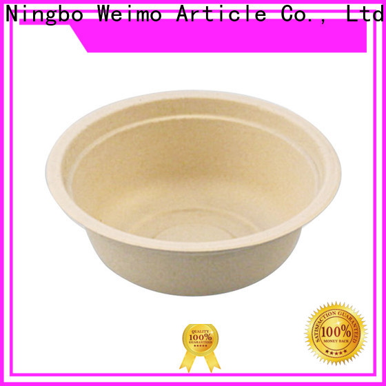 New eco tableware natural manufacturers for food