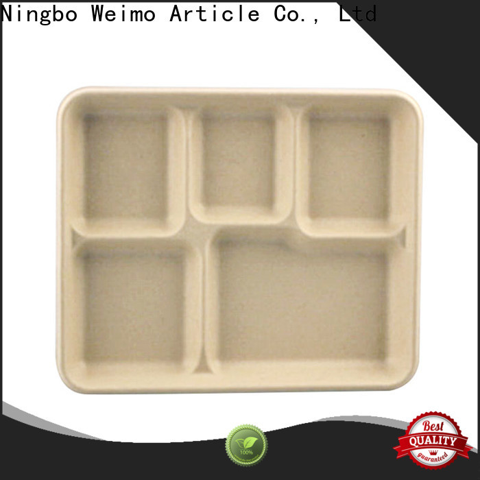 Greenweimo Wholesale sugarcane tray Suppliers for party