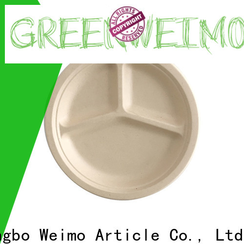 New green plates and bowls compostable company for wet food
