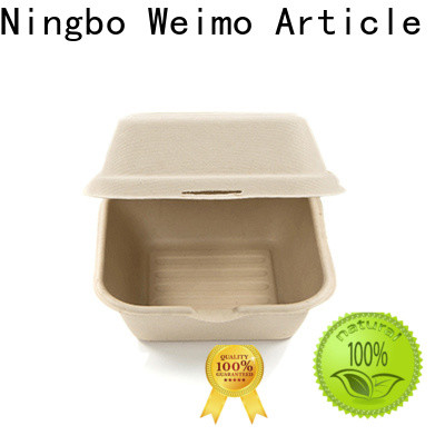 Greenweimo biodegradable wholesale food containers Suppliers for food