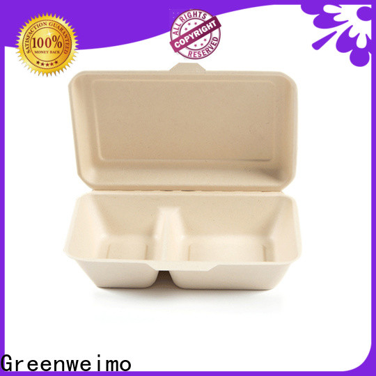 Greenweimo Custom biodegradable plates for business for delivering