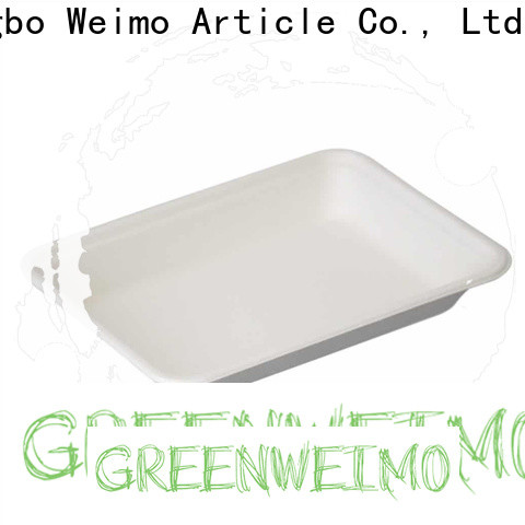 Greenweimo Custom bagasse tray Supply for wet food