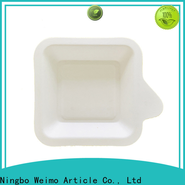 Top biodegradable plates bagasse factory for party