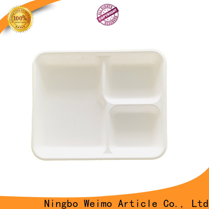 Best biodegradable meat trays inch Supply for oily food