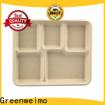 Custom eco friendly containers bagasse Supply for oily food