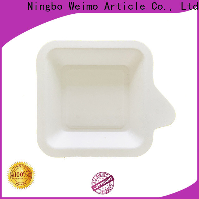 Greenweimo inch biodegradable meat packaging trays Supply for party