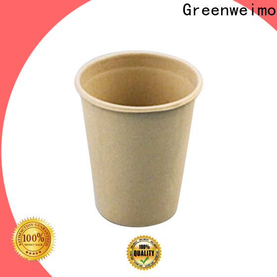 Greenweimo microwave eco friendly paper cups Suppliers for party