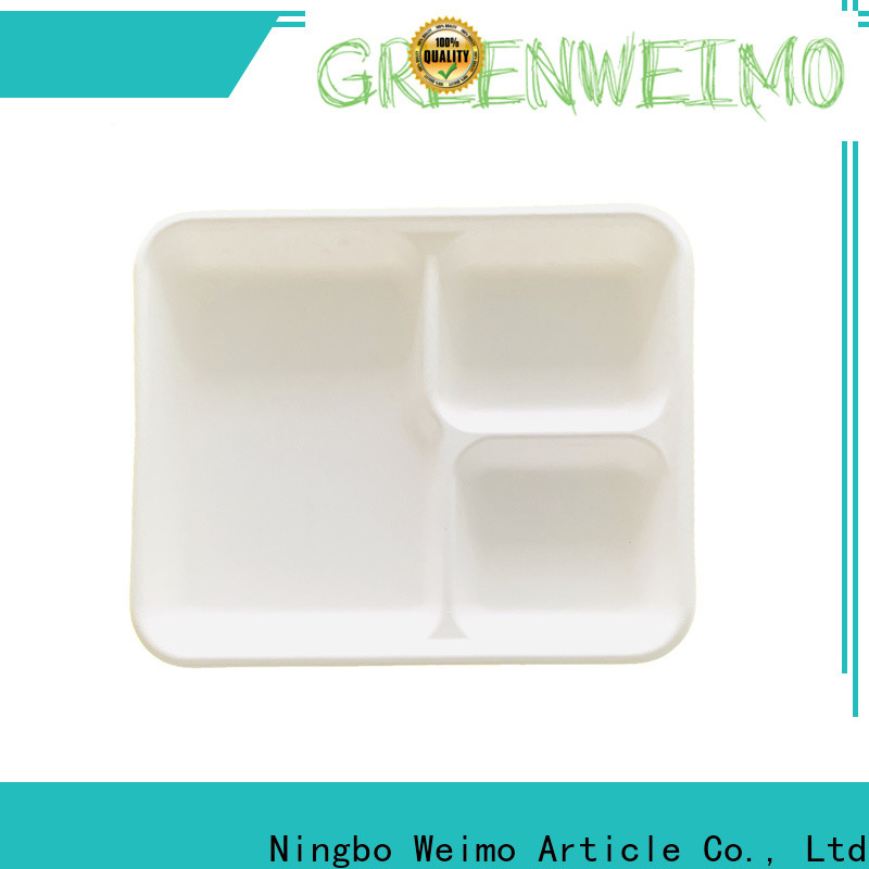 Greenweimo bagssse biodegradable food packaging Suppliers for oily food