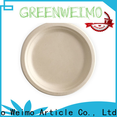 High-quality wholesale paper plates three for business for party