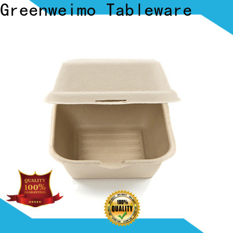 Greenweimo food clamshell food packaging supplies for business for delivering