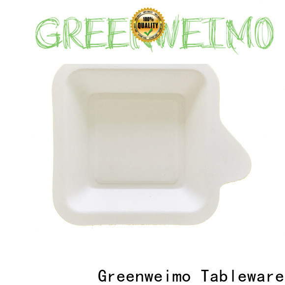 Greenweimo divided eco friendly food trays manufacturers for hot food