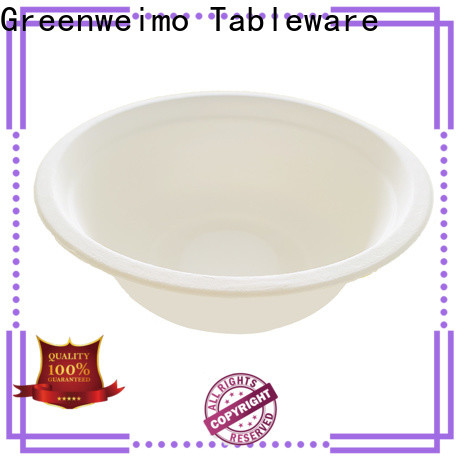 Greenweimo Best compostable bowls manufacturers for cake