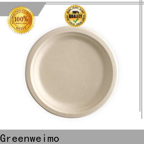 Greenweimo Wholesale recycle plates and bowls company for wet food