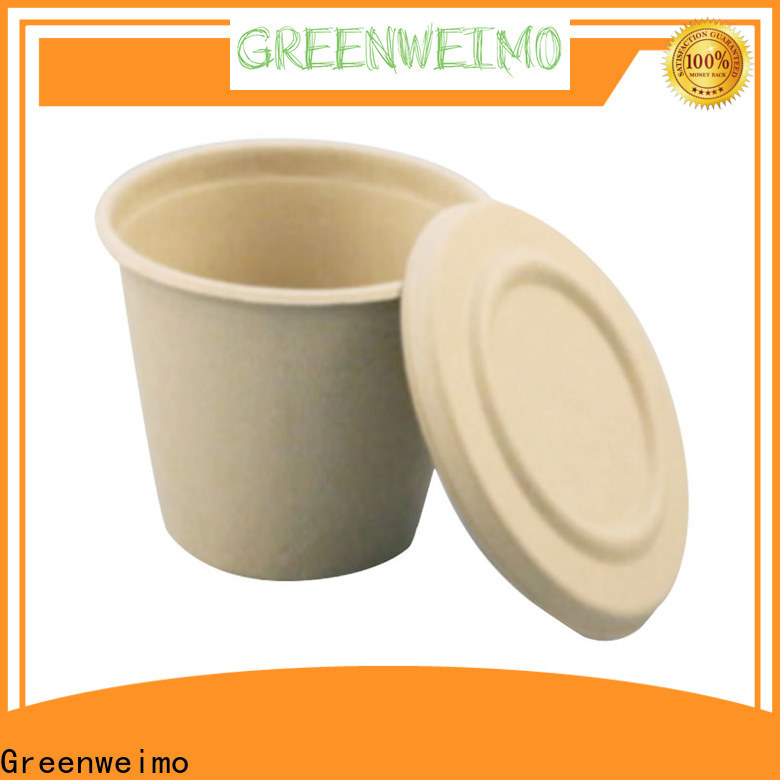 Greenweimo Wholesale biodegradable plates Supply for party