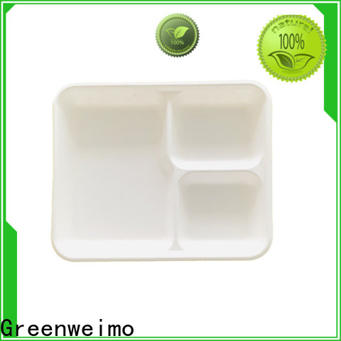 Greenweimo Custom eco paper plates factory for wet food