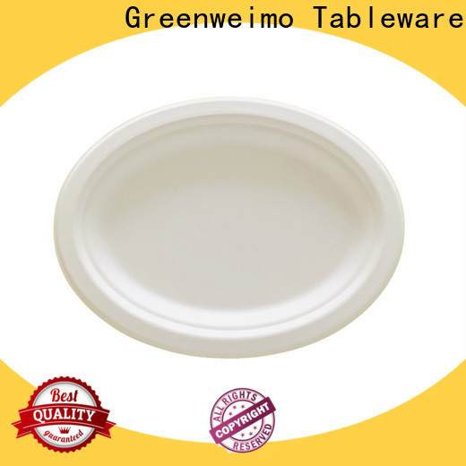Greenweimo Latest sugarcane plates company for party