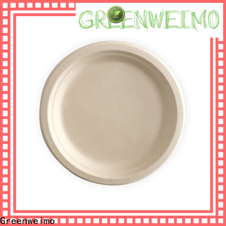 Greenweimo Best eco paper plates manufacturers for wet food