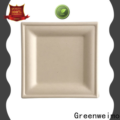 Greenweimo compostable green disposable tableware company for wet food