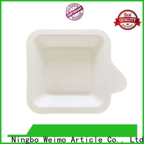 Greenweimo contanier biodegradable packaging materials factory for oily food