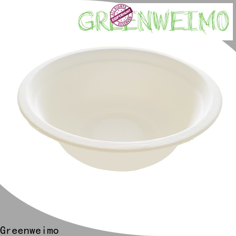 Best eco friendly paper plates and cups bagasse manufacturers for meal