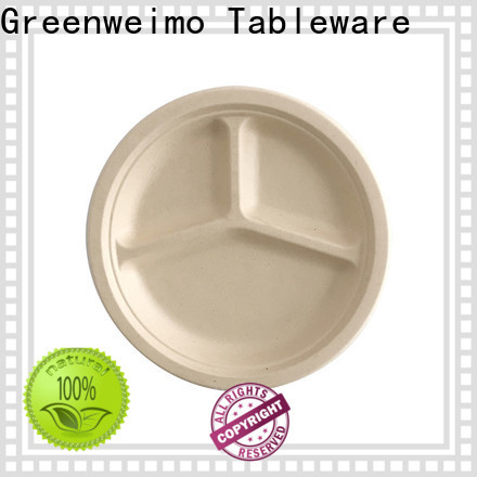 Greenweimo Best biodegradable party plates manufacturers for wet food