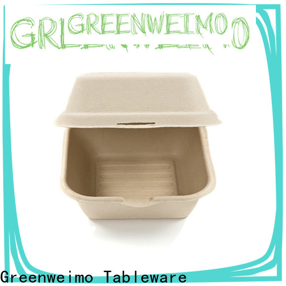 Greenweimo food sugarcane food containers for business for delivering