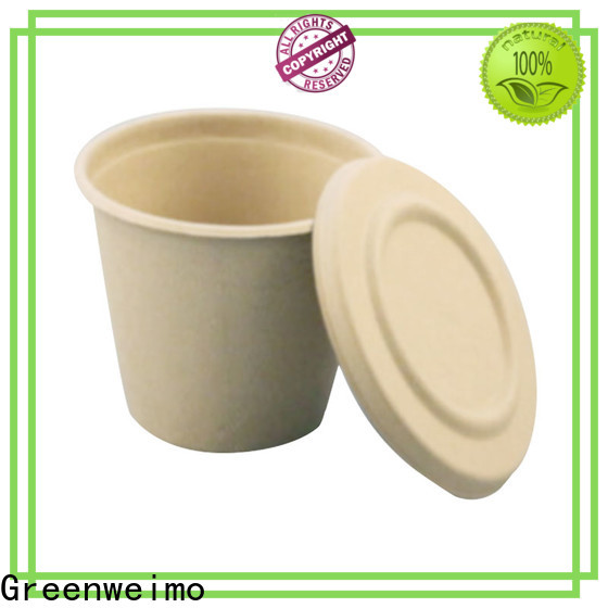 Greenweimo New recycled paper plates and cups for business for water