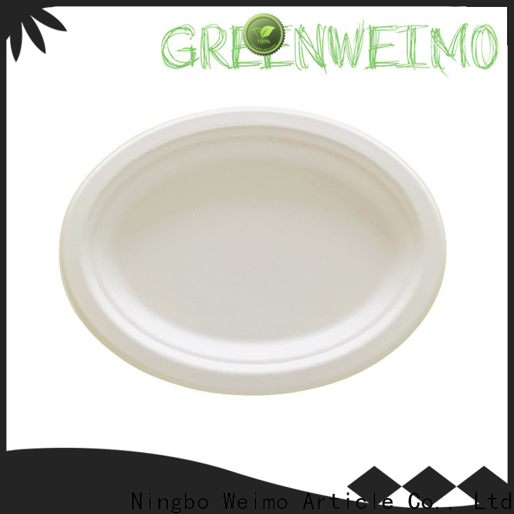 Greenweimo New eco paper plates company for wet food