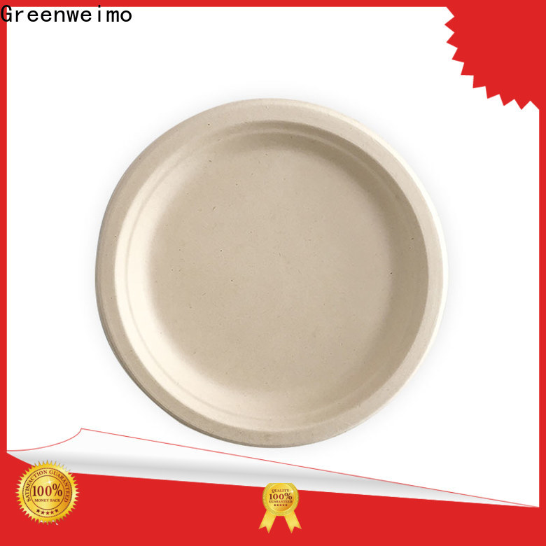 Greenweimo Best eco party plates manufacturers for oily food