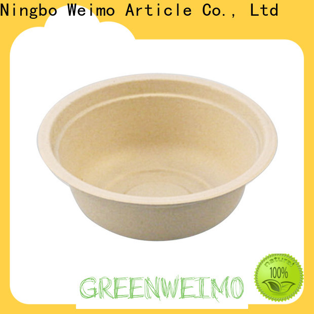 Greenweimo Custom biodegradable packaging materials manufacturers for food