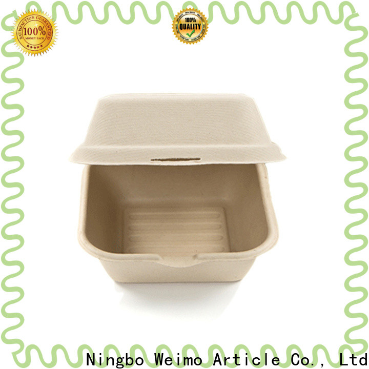 Greenweimo clamshell biodegradable containers with lids for business for package