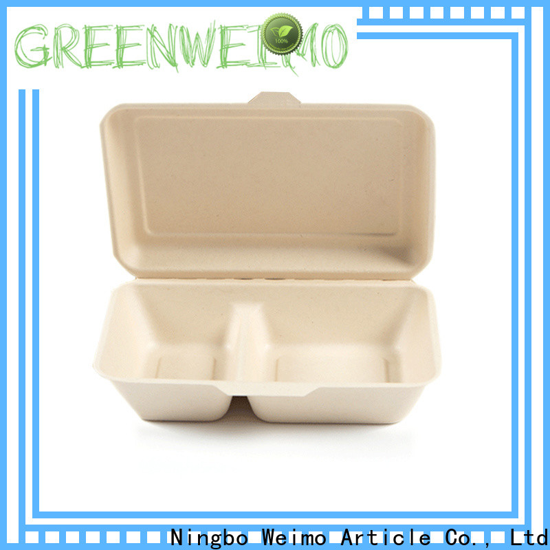 Greenweimo biodegradable round clamshell packaging Supply for package