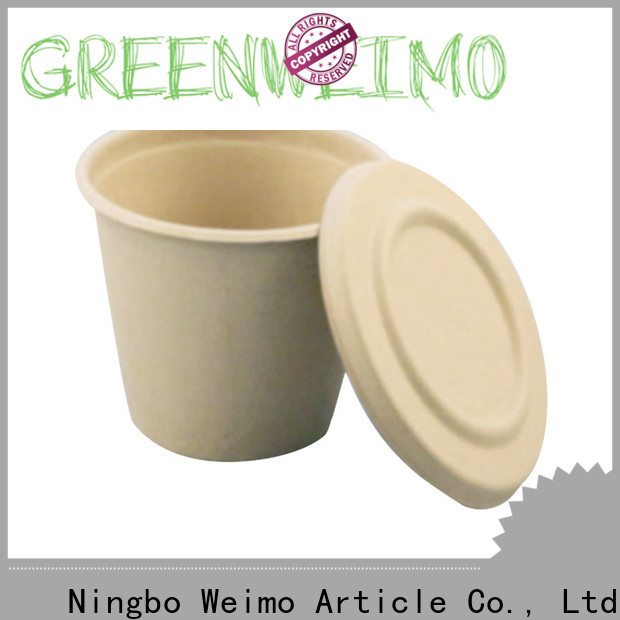 Greenweimo hinged biodegradable mugs company for drinking