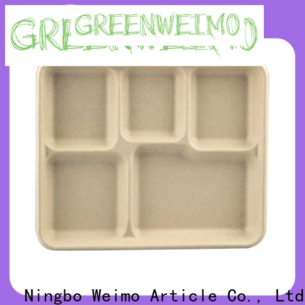 Greenweimo tray biodegradable tray Supply for oily food