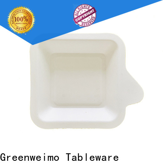 Greenweimo straw environmentally friendly lunch trays manufacturers for oily food