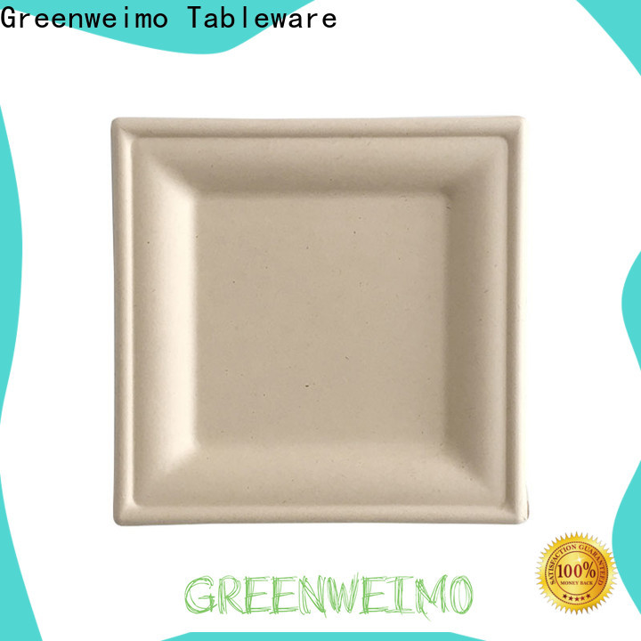 Greenweimo Wholesale sustainable plates company for party