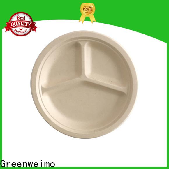 Greenweimo Custom bioplate for business for wet food