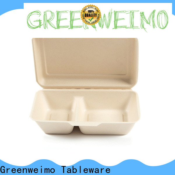 Greenweimo Wholesale sugarcane food containers company for delivering