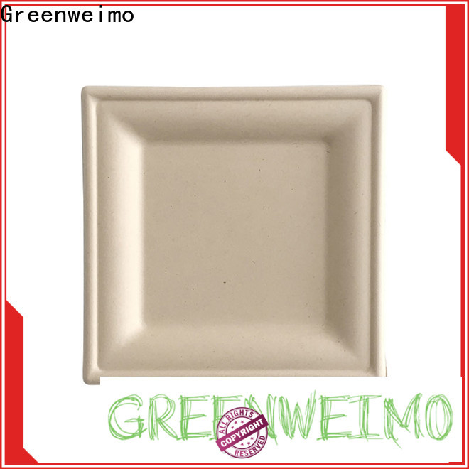 New biodegradable wedding plates sugarcane company for party