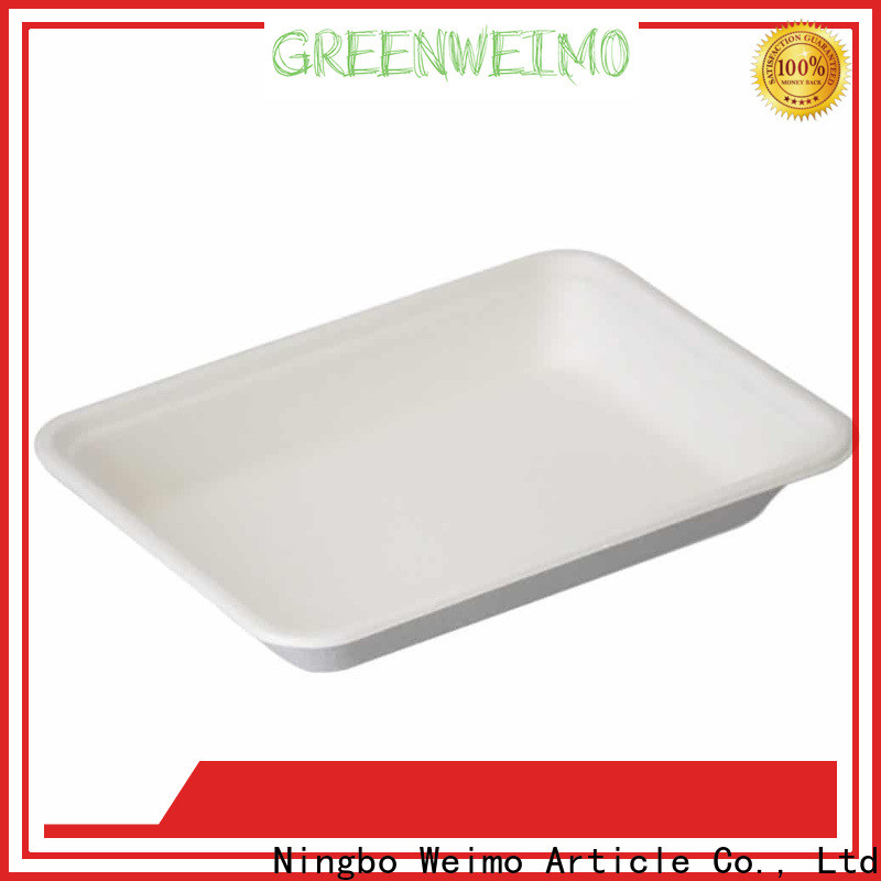 Greenweimo bagssse biodegradable flatware Suppliers for party