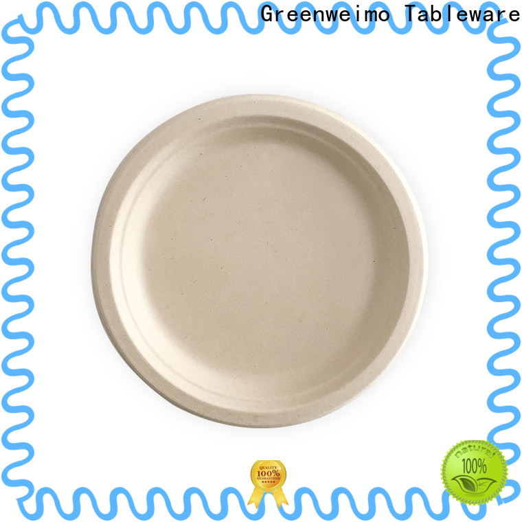 Greenweimo Latest biodegradable disposable bowls factory for oily food