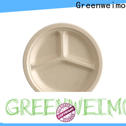 Greenweimo food biodegradable party plates Supply for oily food
