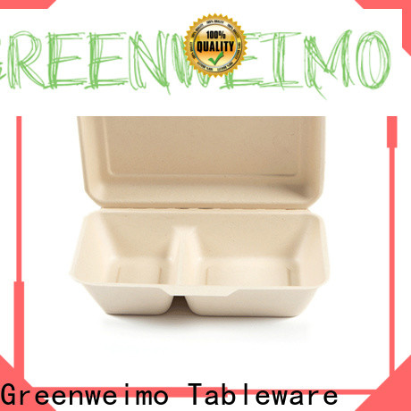 Greenweimo Custom biodegradable bowls company for package