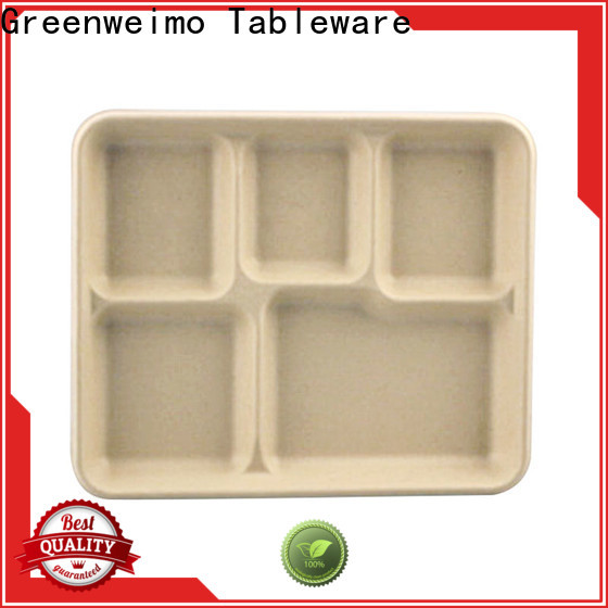 Greenweimo Custom biodegradable food containers manufacturer Suppliers for hot food