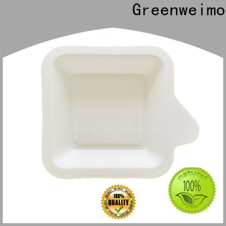 Greenweimo food eco paper plates for business for hot food