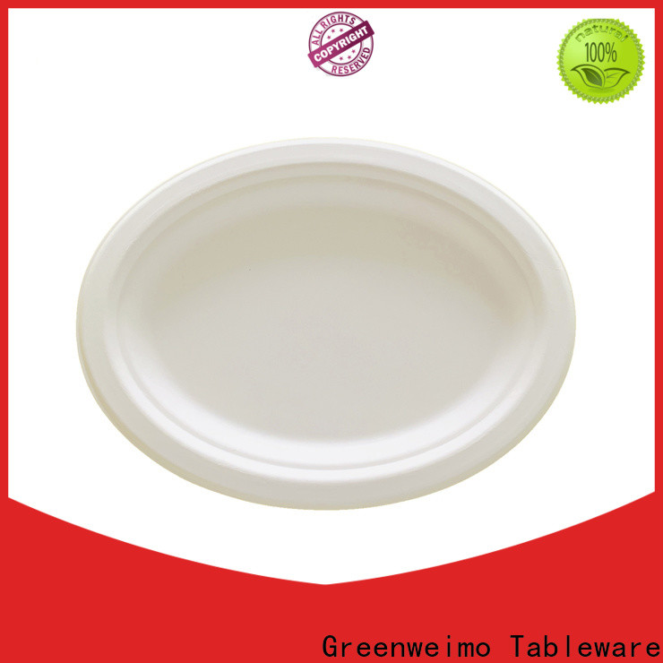 Greenweimo bagasse biodegradable bowls with lids for business for wet food