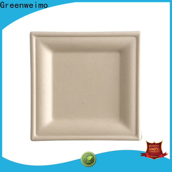 Latest eco friendly dishware bagasse factory for hot food
