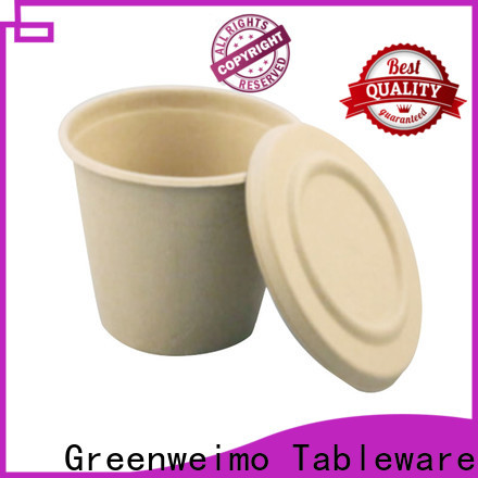 Greenweimo safe compostable coffee cups Supply for party